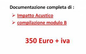Offerta Impatto Acustico Roma